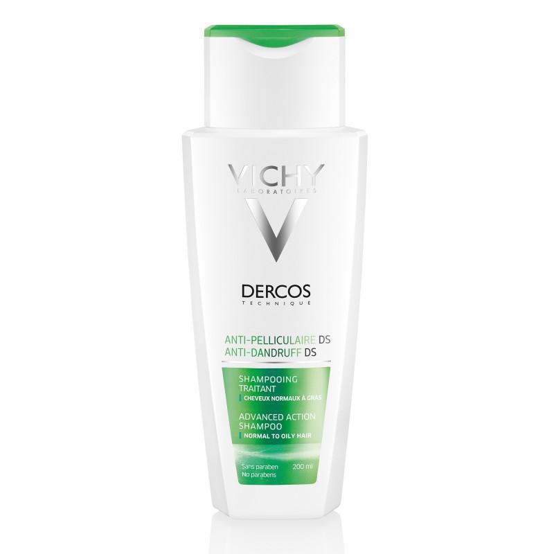 VICHY DERCOS DERCOS Shampoing Anti-pelliculaire - Cheveux gras 200 ml