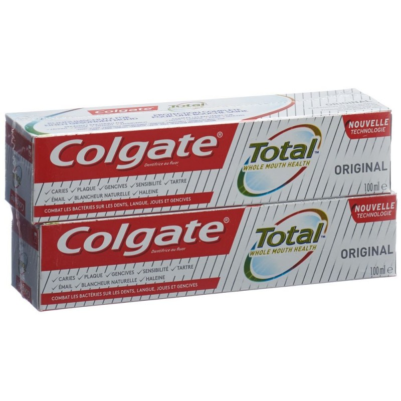 Colgate Total ORIGINAL dentifrice duo 2 tb 100 ml