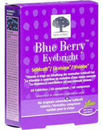 NEW NORDIC Blue Berry Eyebright cpr 60 pce