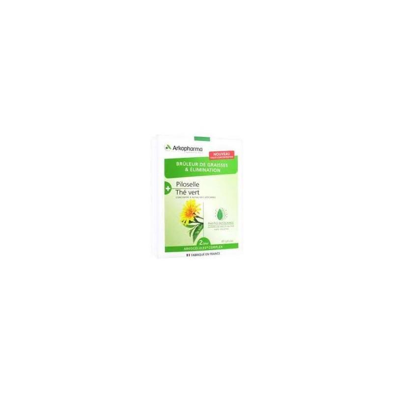 Arkocaps complex piloselle + thé vert casp 40 pce