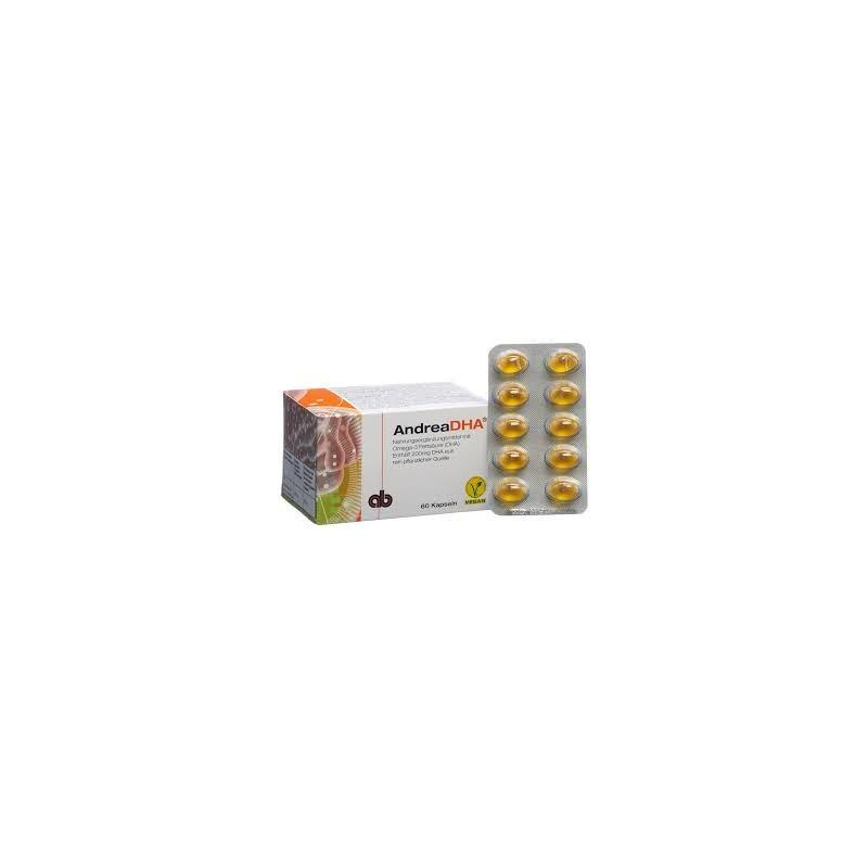 ANDREADHA Omega-3 caps purement végétal