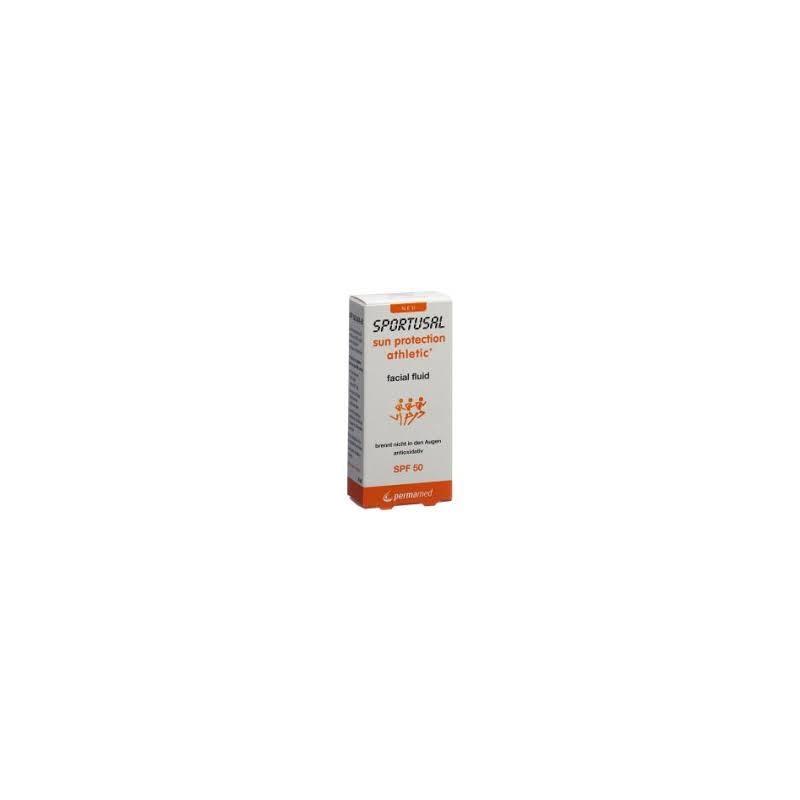 Sportusal sun protection athletic fluid fl 30 ml