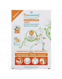 PURESSENTIEL patchs chauffants aux 14 huiles essentielles 3 pce