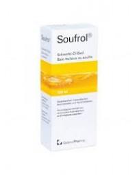 Soufrol bain huileux au soufre fl 300 ml