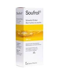 Soufrol bain huileux au soufre fl 800 ml
