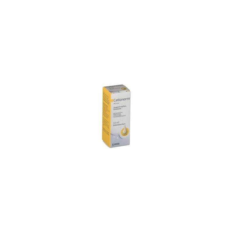 Cationorm MD émulsion ophtalmique fl 10 ml