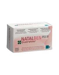 Natalben PLUS caps blist 90 pce
