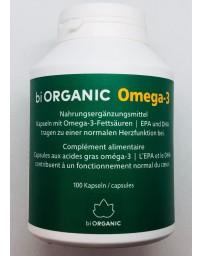 BIORGANIC Omega-3 caps français/allemand bte 100 pce