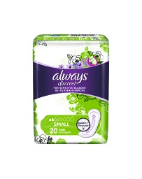 Always Discreet incontinence Small 20 pce