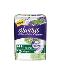 Always Discreet incontinence Normal 12 pce