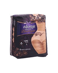 Always Discreet Boutique incontinence Pants L Plus 8 pce
