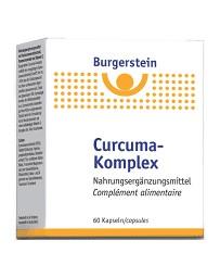 BURGERSTEIN Curcuma-Komplex caps blist 60 pce