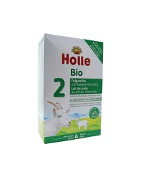 HOLLE Lait de Suite 2 au lait de Chèvre bio 400g