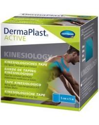 DERMAPLAST Active bandage sport 6cmx5m bleu