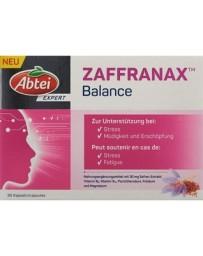 Abtei ZAFFRANAX Balance caps 30 pce