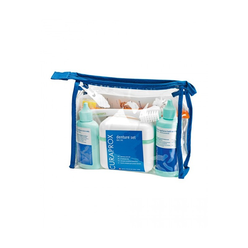 Curaprox BDC 190 dentur care set