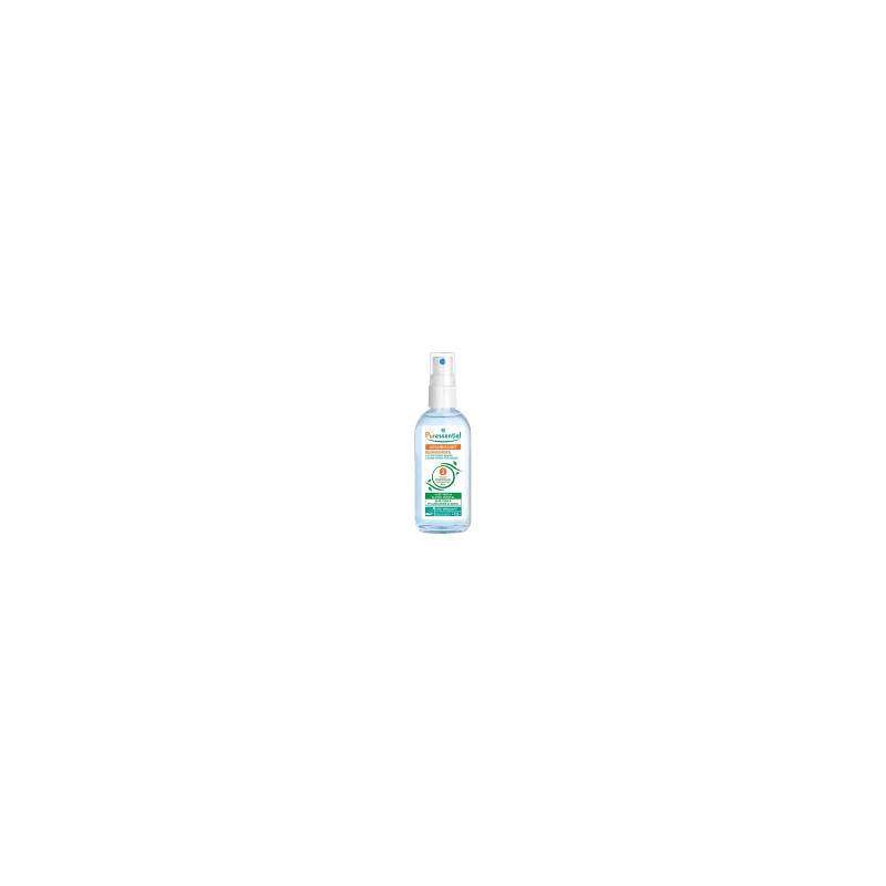 Puressentiel assainissant lotion antibactérienne mains et surfaces spray 80 ml