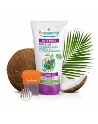 Puressentiel anti-poux shampoing masque traitant 2-en-1 +peigne tb 150 ml