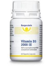Burgerstein Vitamine D3 2000 UI caps 60 pce