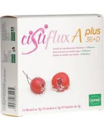 Cistiflux A36+DMannose complément alimentaire Cranberry 14 sach 5 g