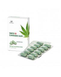SWISS CANNABIS Gum 120 mg CBD menthe box 24 pce