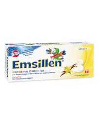 Emsillen comprimés pour la gorge destinés aux enfants avec vanille 20 pce