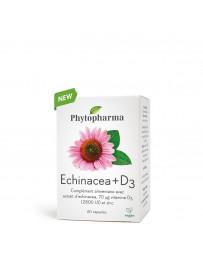 Phytopharma echinacea + vitamine D3 caps bte 60 pce
