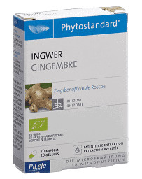 Phytostandard Gingembre gélules bio 20 pce