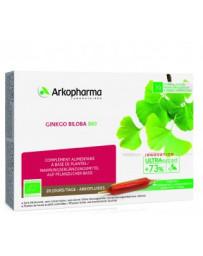 Arkofluide Ginkgo Biloba amp buv bio 20 x 10 ml