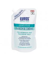 Eubos Sensitive douche + crème refill 400 ml