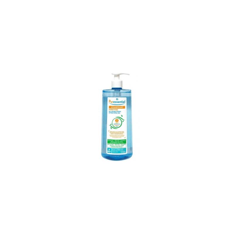 Puressentiel gel assainissant antibactérien aux 3 huiles essentielles fl 975 ml