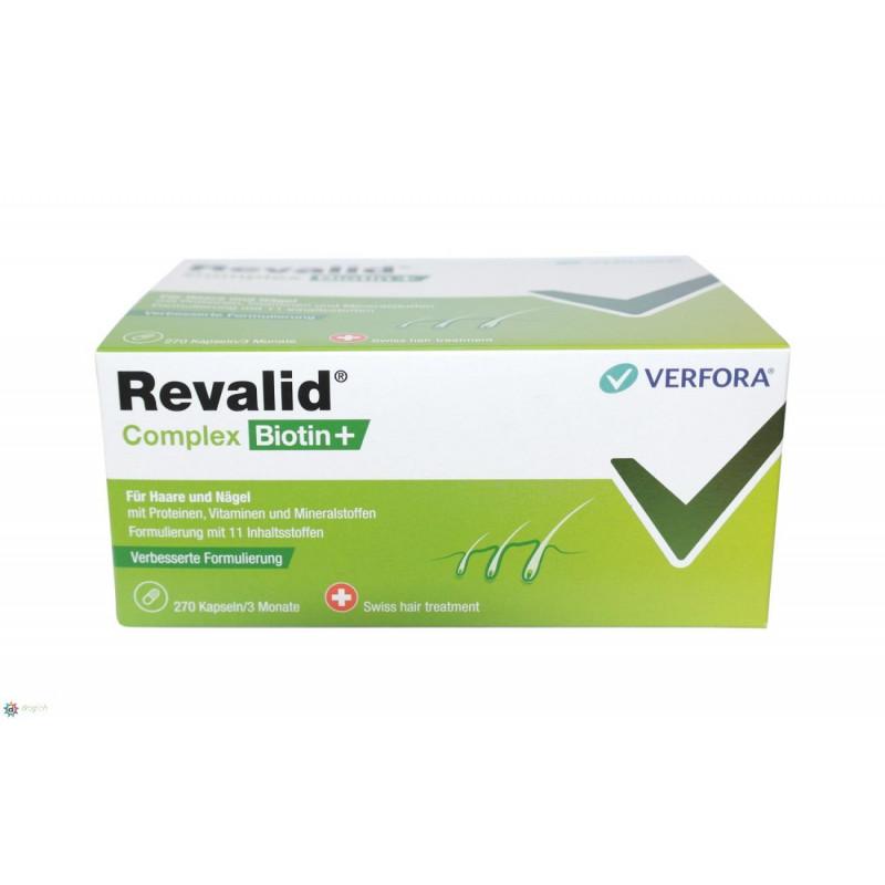 Revalid Complex Biotin+ caps 270 pce