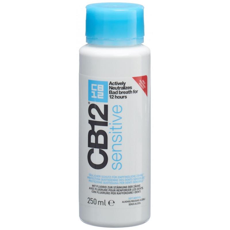 CB12 sensitive soin buccal fl 250 ml