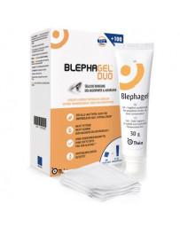 Blephagel duo gel 30g + 100 compresses