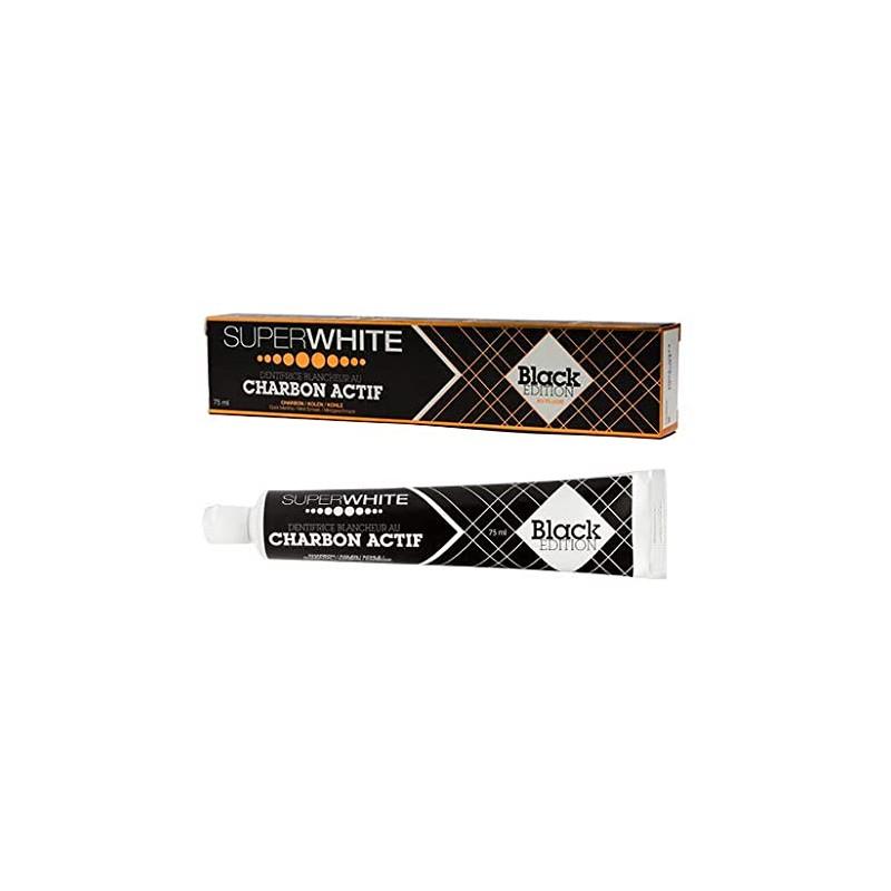 SUPERWHITE Dentifrice Black Edition 75 ml
