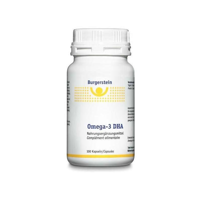 BURGERSTEIN Omega-3 DHA caps 100 pce