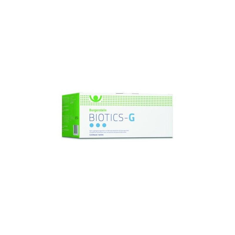 BURGERSTEIN Biotics-G pdr 3 x 30 pce