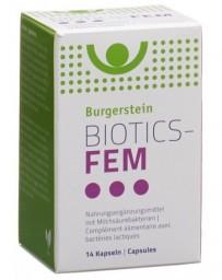 BURGERSTEIN BIOTICS-FEM caps 14 pce