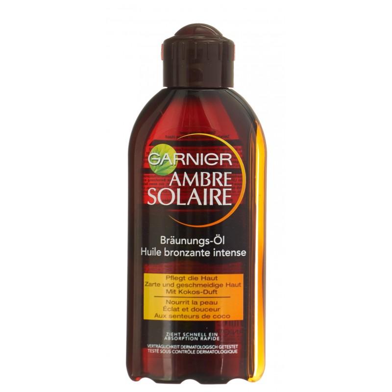 """AMBRE SOLAIRE Huile Bronzante """"Coco"""" IP2 200 ml"""