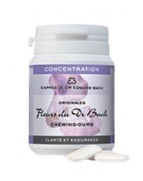BIOLIGO Dr Bach chewing-gum concentration bte 60 g