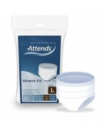 ATTENDS STRETCHFIT slip filet 90-120cm GrL 3 pce