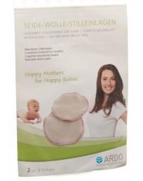 ARDO compresses allaitement soie/laine 1 paire