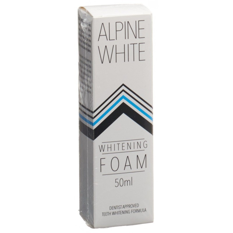 ALPINE White Whitening Foam