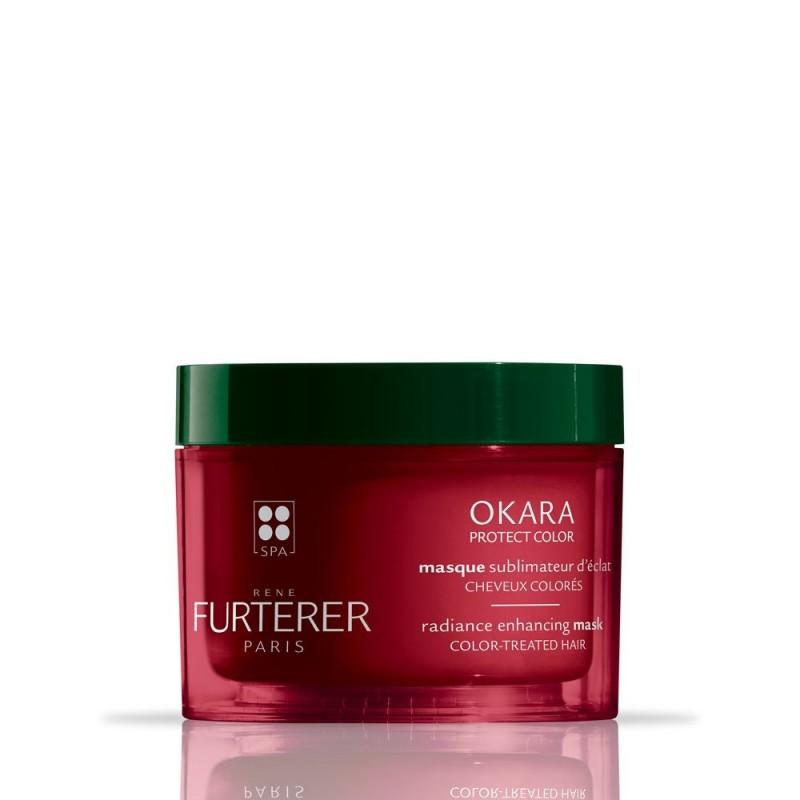 RENE FURTERER OKARA PROTECT COLOR Masque sublimateur d'éclat Pot 200ml