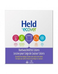 HELD BY ECOVER Lessive en poudre Color 3kg