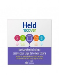 HELD BY ECOVER Lessive en poudre Color 1.575kg