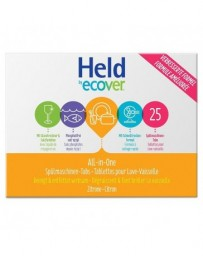 HELD BY ECOVER Tablettes lave-vaisselle All-in-One 500g