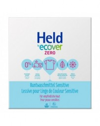 HELD BY ECOVER lessive pour linge de couleur sensitive 40 lavages 3 kg