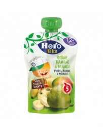 HERO Kids Big Smoothie Poire, banane & mangue 120 g