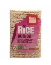 LIMA Galettes de riz fines au quinoa 130 g